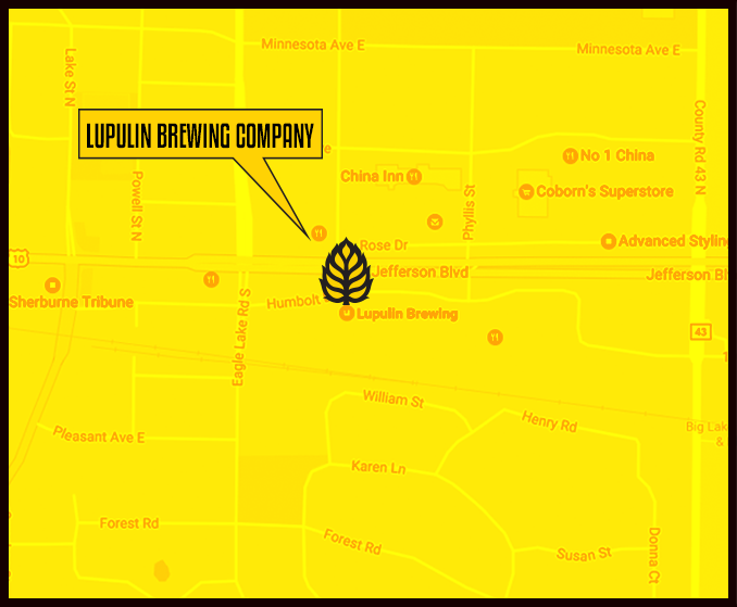 Find Lupulin Brewing on Google Maps