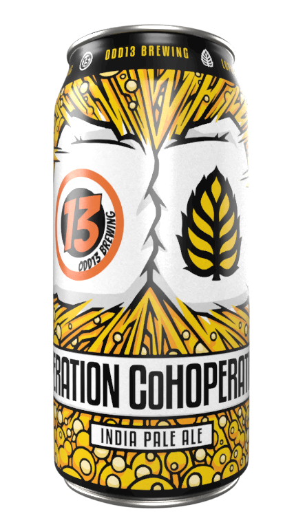 Operation CoHoperation - Odd 13 Brewing - IPA