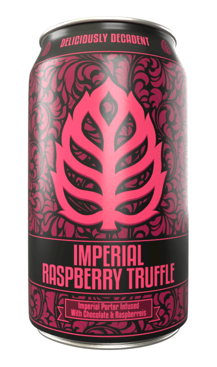 Imperial Raspberry Truffle - Imperial Porter infused with Raspberries