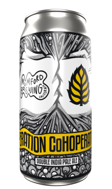 Operation CoHoperation - Mumford Brewing - Double IPA